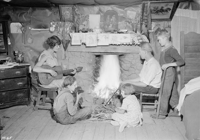 Великая депрессия: трудная жизнь в США 1930-х