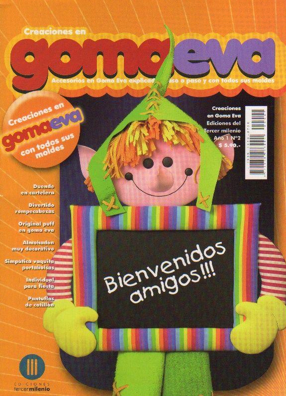 Creaciones en Goma Eva 02 2008 (поделки)