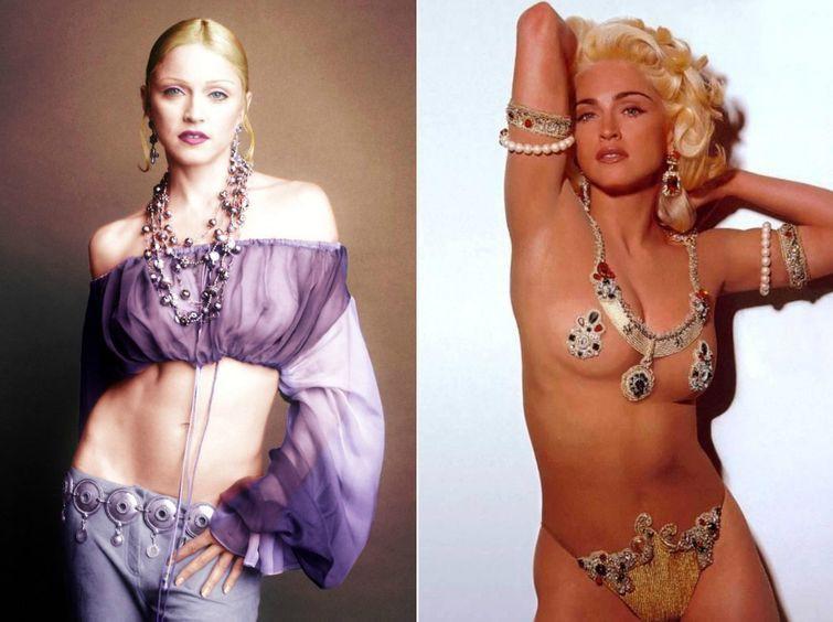 Мадонна для Vogue, 1992 год история, картинки, фото