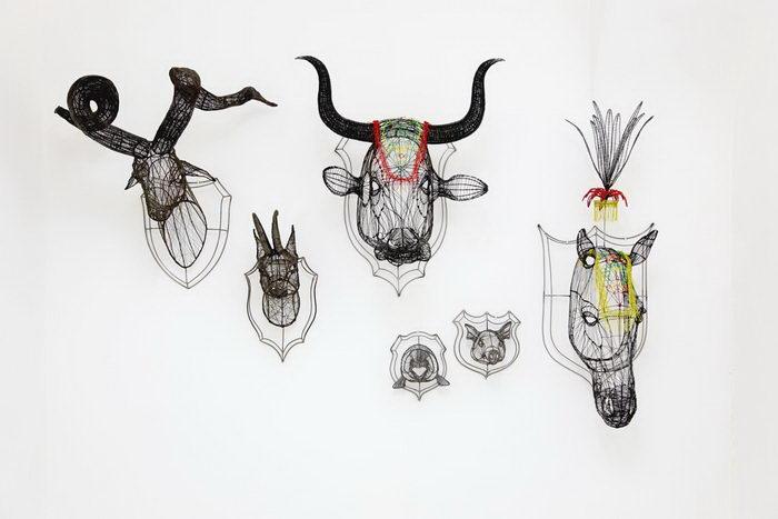 Трофеи животных. Автор: Roberto Fanari.