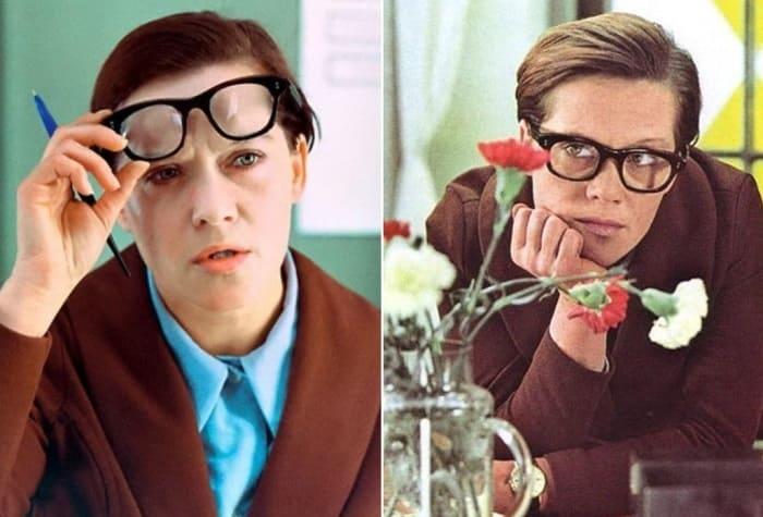 Кадры из фильма *Служебный роман*, 1977 | Фото: bigpicture.ru и whatzup.com.ua