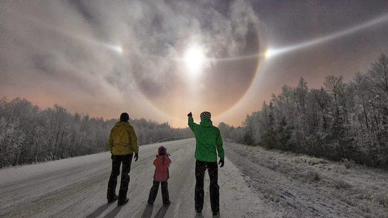 Зима в Финляндии природа, природные явления, удивительная природа