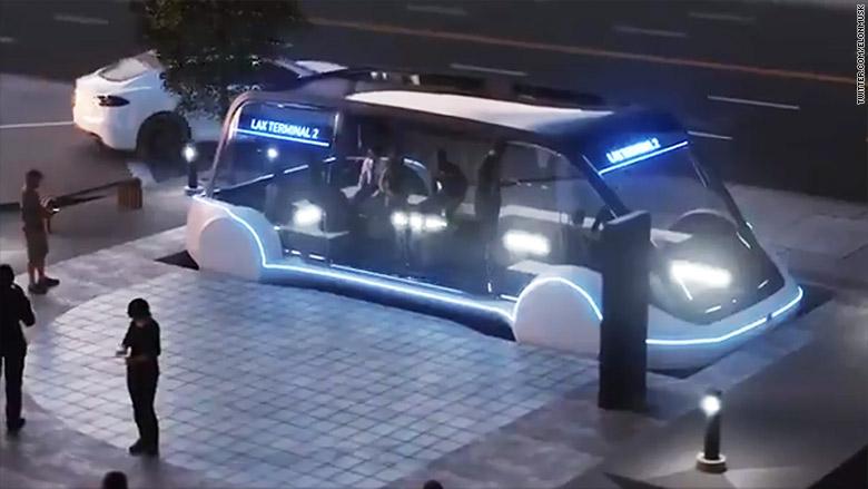 Лас-Вегас пригласил Илона Маска построить туннели под городом илон маск
