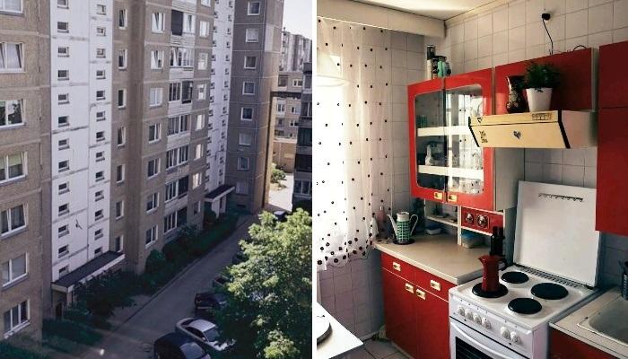 """Пара из Вильнюса воссоздала """"идеальную советскую квартиру"""" и сдает ее в аренду фанатам """"Чернобыля""""."""