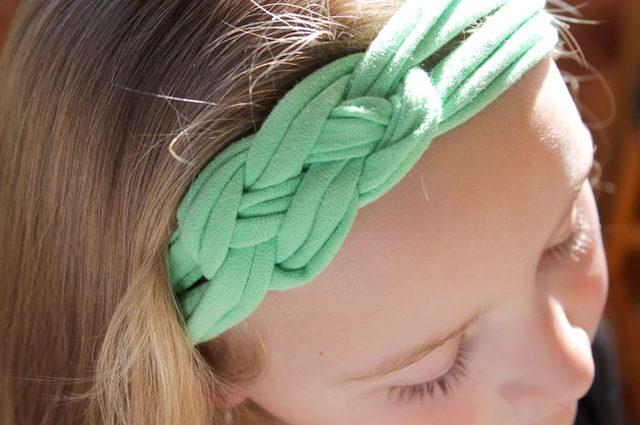 Стильный аксессуар для волос с кельтским символом удачи