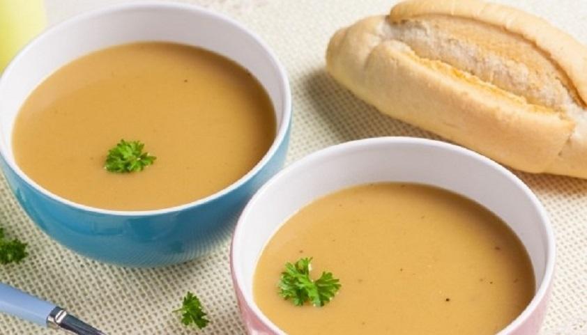 Суп-пюре с жареной картошкой: необычно, но очень вкусно!
