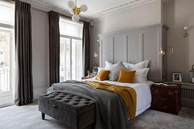 Современная классика Спальня by Nathalie Priem Photography