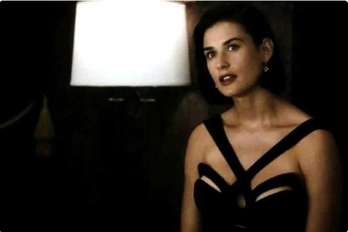 Черное вечернее платье из к/ф «Непристойное предложение»