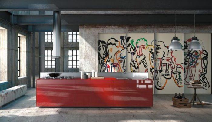 Китч является воплощением творческих задумок с сочетанием экстравагантности.