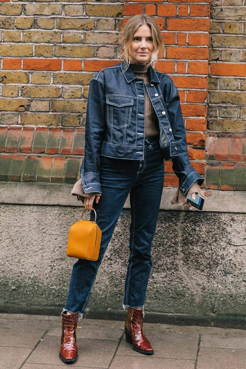 Модный деним: 7 моделей джинсовок на весну аксессуары,гардероб,мода,мода и красота,модные образы,модные сеты,модные советы,модные тенденции,одежда и аксессуары,стиль,стиль жизни,уличная мода