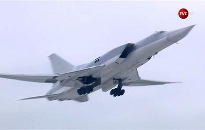 Российские бомбардировщики нанесли удар по объектам ИГ в Сирии