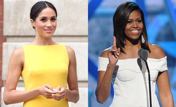 Меган Маркл объединилась с Мишель Обамой ради достижения гендерного равенства во всем мире