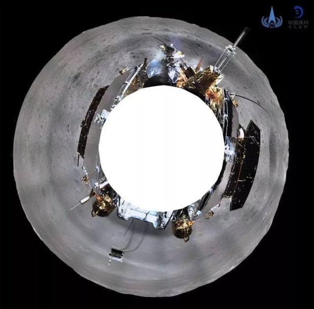 Первые панорамы обратной стороны Луны