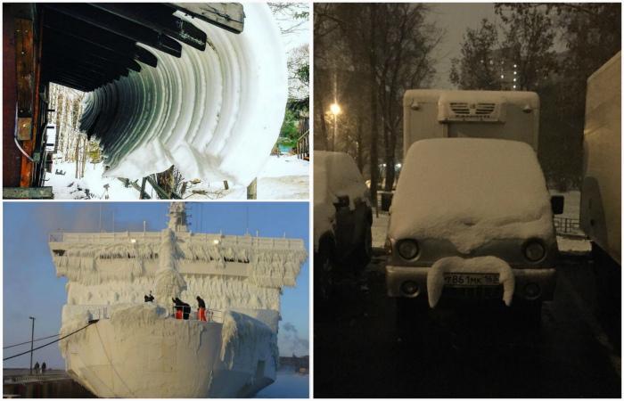 Красота в белых тонах: 17 фотографий, на которых удалось запечатлеть настоящую зимнюю сказку