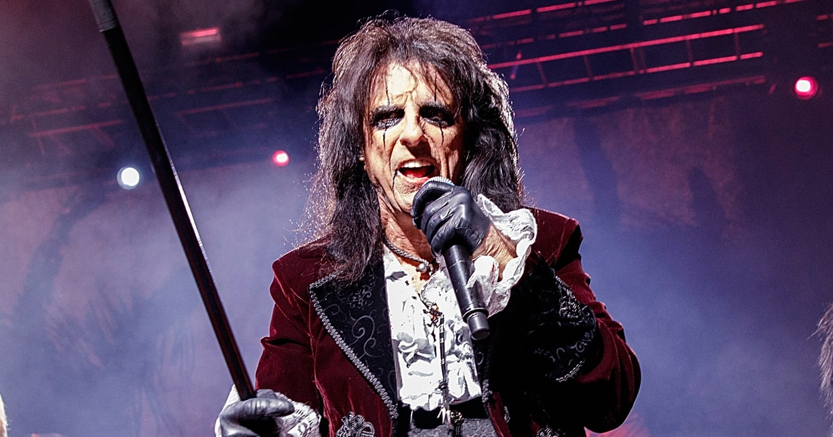 "Alice Cooper.  ""School's Out""."