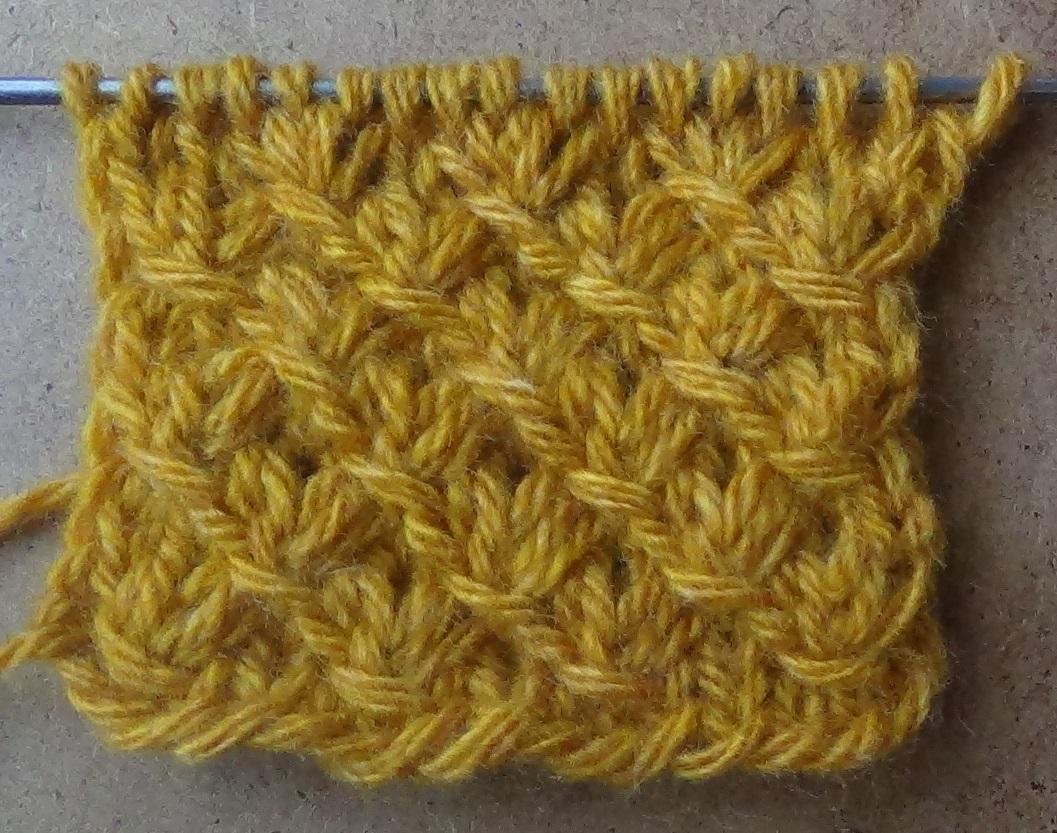 Узор №2 ЗВЕЗДОЧКИ. Knitting pattern
