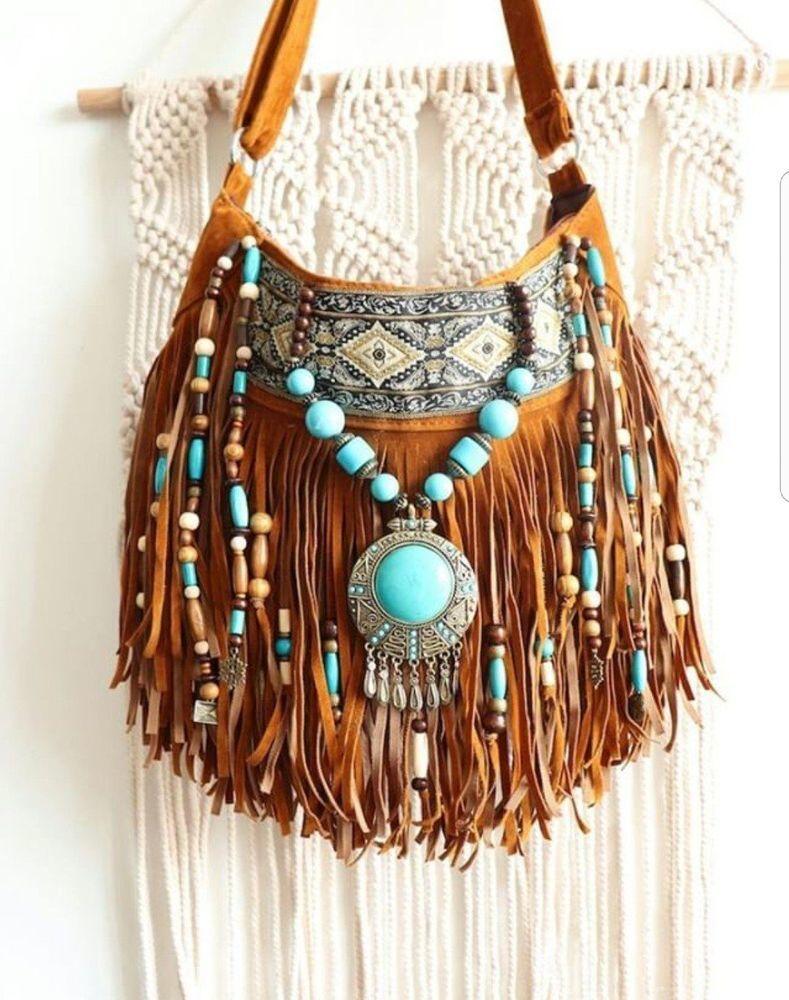 Сумка в стиле Бохо-шик, какая она? аксессуары,бохо,мода и красота,одежда и аксессуары,стиль,сумки