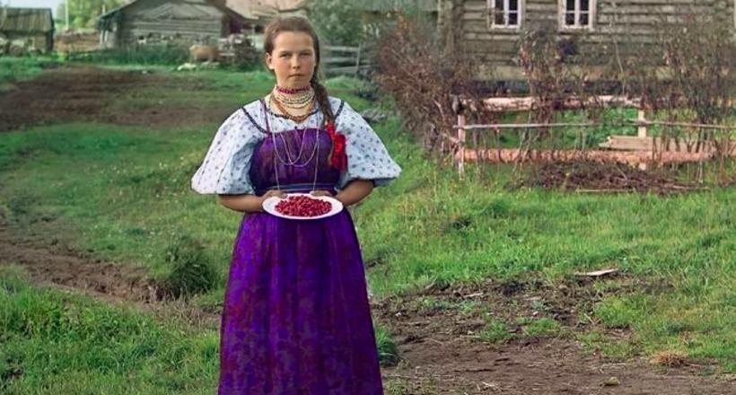 Цветные фото Российской импе…