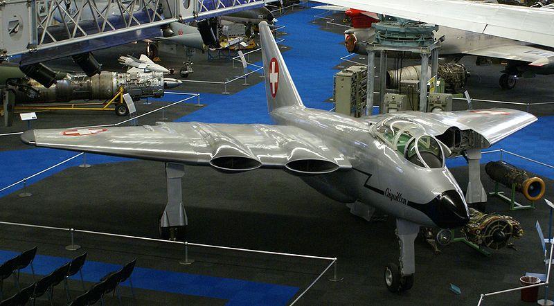 """Швейцарский эксперементальный истребитель-бомбардировщик N-20 """"Арбалет"""""""