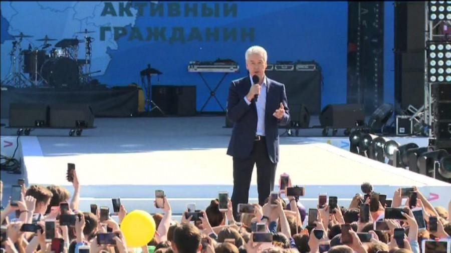 Сергей Собянин заявил о своем выдвижении в мэры Москвы