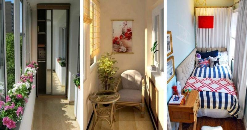 Уютный уголок: 21 милая идея обустройства балкона и лоджии