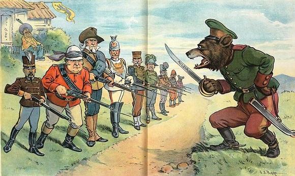 Медведи, балерины илохматые казаки: почему иностранцы XIX века так изображали русских