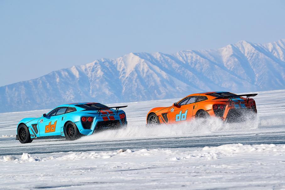Рожденный ездить боком: суперкар Flanker F из России автомобили,водители