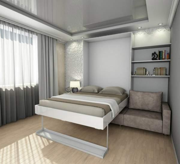 как правильно расставить мебель в однокомнатной квартире, фото 16