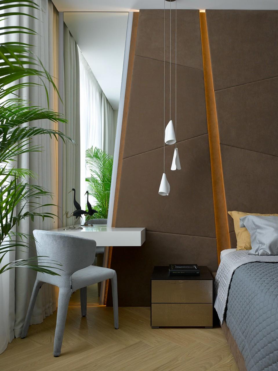 Интерьер московской квартиры 105 квадратных метров