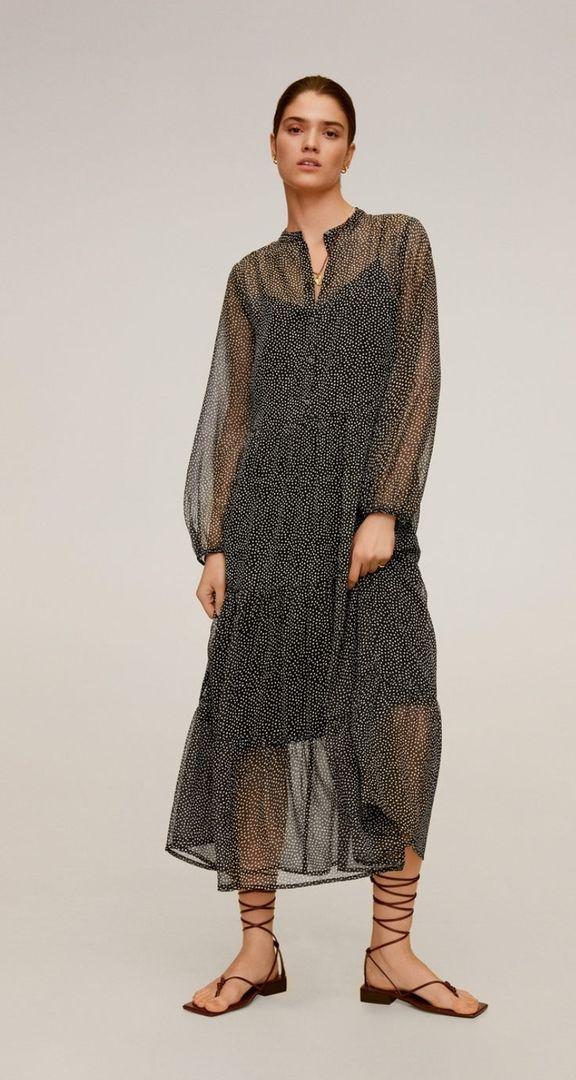 Платье, Mango, 3 999 руб.