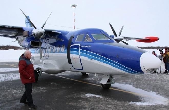 """Первым гражданским получателем L-410 с УЗГА стала """"СиЛА"""""""