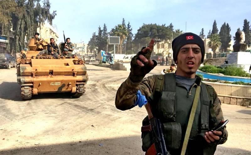 Африн сдался без сопротивления: курды бежали, поджав хвост