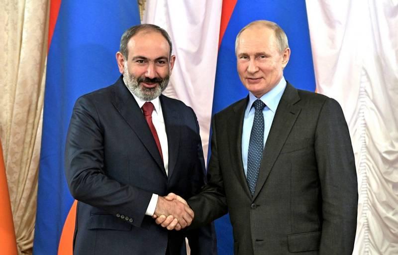 Пашинян признал ошибки и выступил за «новые отношения» с Россией Новости