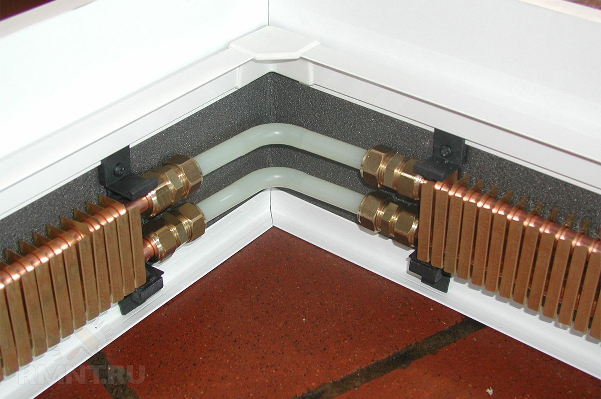 радиатор в плинтусе