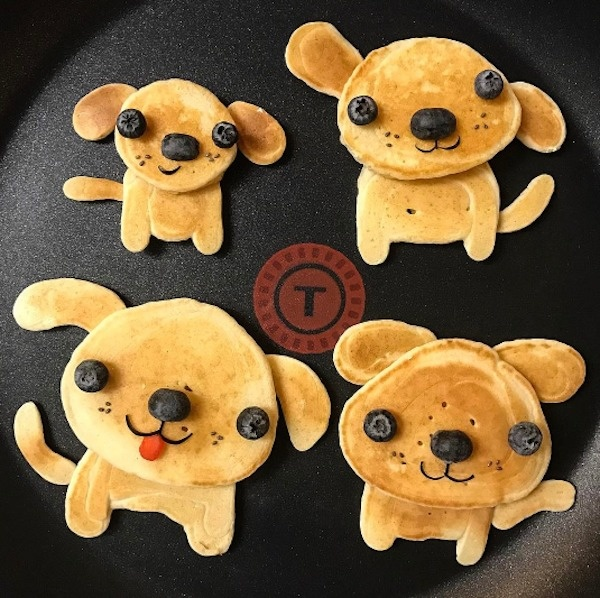 Puppy Pancakes