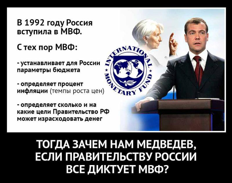 Странное поведение правительства Медведева (По выступлению М.Делягина)