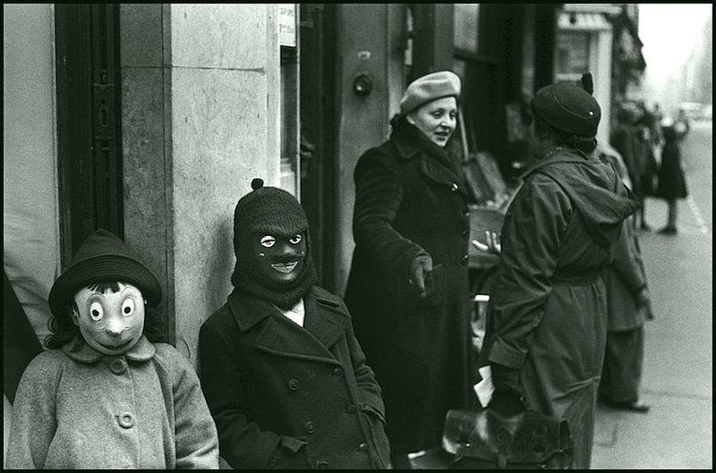 Эллиот Эрвитт - Париж 1949 Весь Мир в объективе, история, фотография