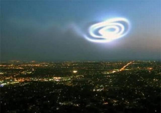 «НЛО» рухнуло прямо на город