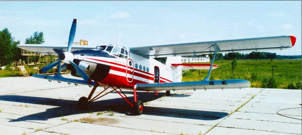 Самолёт Ан-3 - бедный родственник прославленного Ан-2