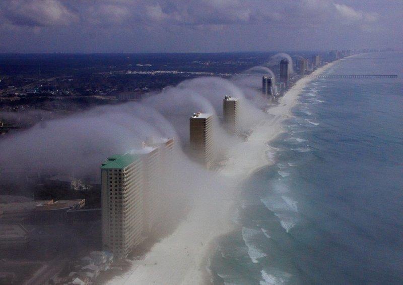 Волны тумана природа, природные явления, удивительная природа