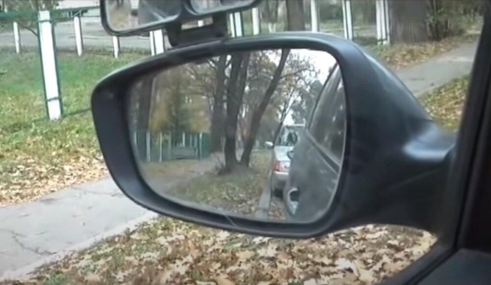 Простой способ параллельной парковки левой стороной по ориентирам. Алгоритм от автоинструктора аварии,авто,авто и мото,водителю на заметку,гибдд,дтп,машины,пдд,Россия,советы,штрафы и дтп