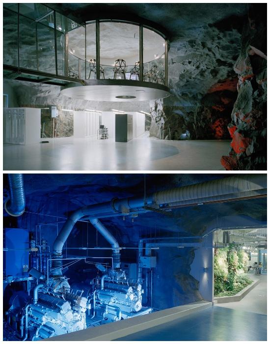 Дизайн нестандартного офиса выполнили в постапокалиптическом стиле (Bahnhof Office, Стокгольм).