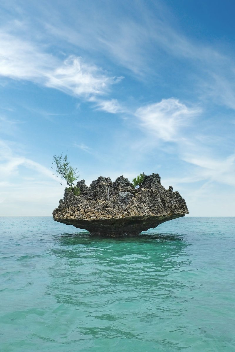 Остров Кристал Рок, Маврикий Кругосветное путешествие, интересно, мир в кармане, от Земли до Луны, приключения, путешествия, страны и города, увлекательно