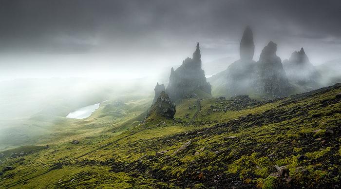 Гебридские острова : сказочные пейзажи, полные мистики и волшебства.