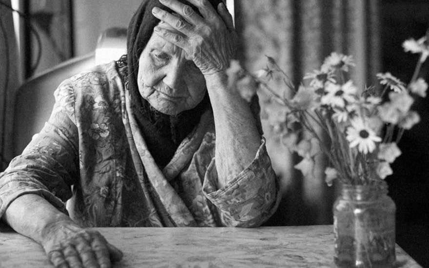 Письмо пожилой женщины о том…