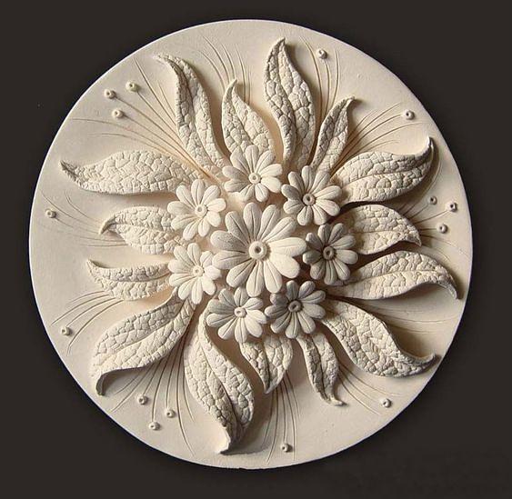 Цветочная керамика. Завораживающая красота! handmake,разное,стекло и керамика,художество