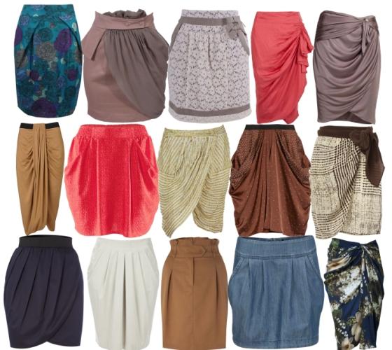 Особенности построения выкройки юбки на разные типы фигуры