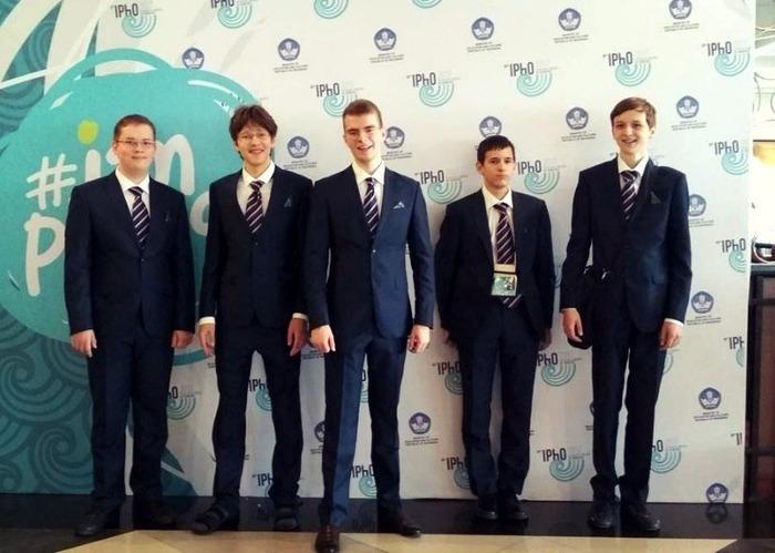 Россия впервые выиграла 5 золотых медалей на Международной олимпиаде по физике