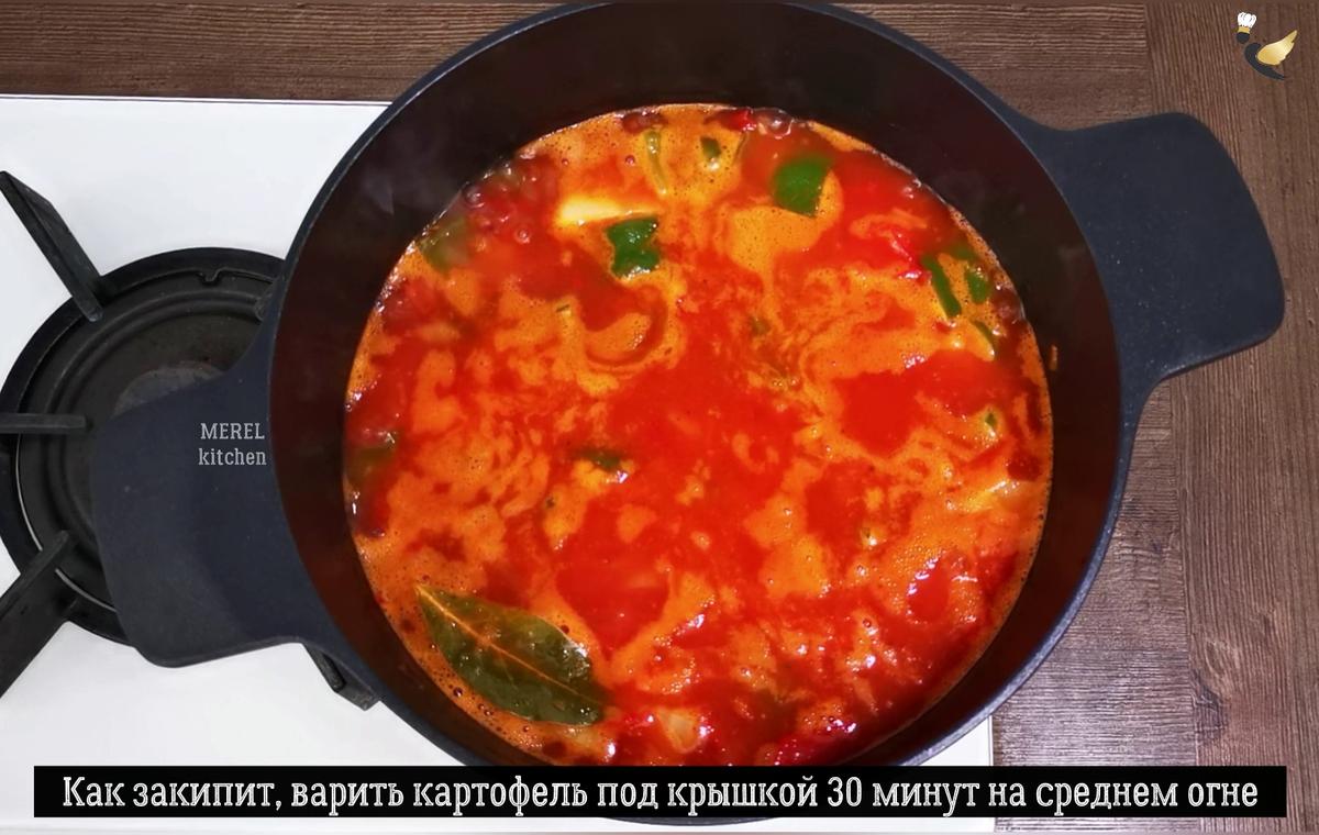 Густой суп испанских рыбаков