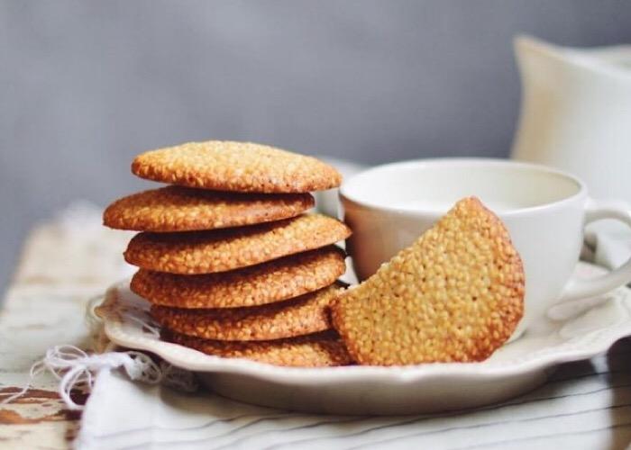 Отменное кунжутное печенье